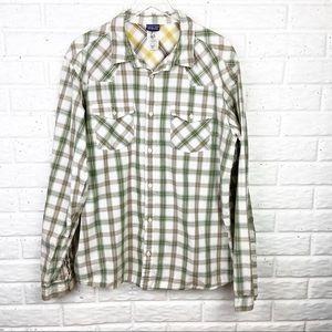 PATAGONIA Organic Cotton Plaid long sleeve shirt